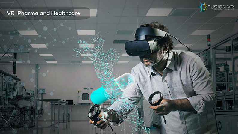 FusionVR Accelerates Immersive Industry 4.0 Solutions for Pharma and Healthcare