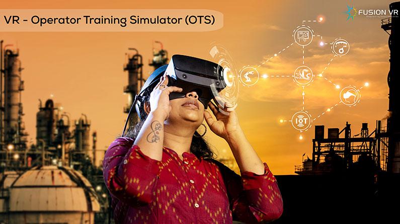 Hazardous Operations Training Simplified with FusionVR's Operator Training (VR-OTS) Simulator