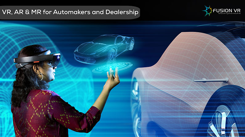 Automakers and Dealerships are Zooming ahead with AR, VR and MR – here's how!