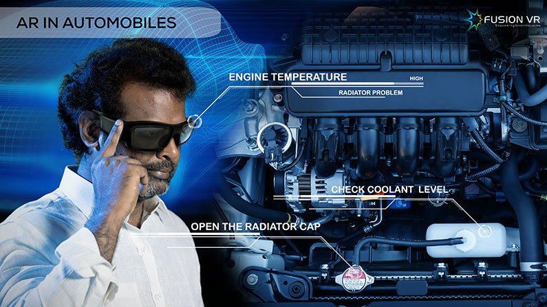 Driving Safer and Smarter with Augmented Reality in Automobiles