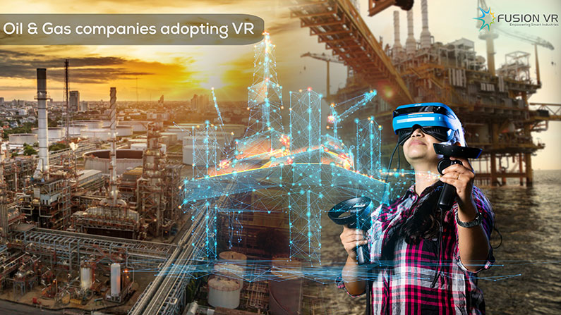 How leading oil and gas companies are adopting virtual reality?